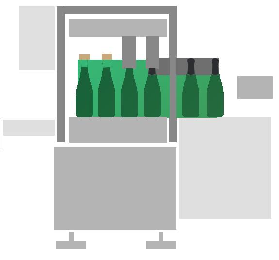 Impianto gabbiatrice e capsulatura