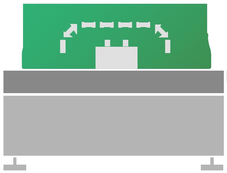 Impianto sciacquatrice